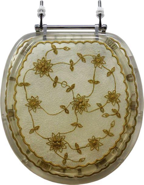 decorative toilet seat decorative toilet seat floral lace design standard