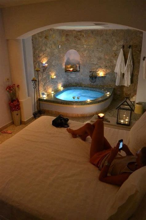amazing master bedroom  jacuzzi ideas  romantic