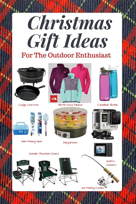 gift ideas for the outdoor enthusiast plus where to find