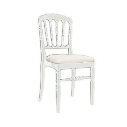 chaise napoleon blanche chaise napoleon iii blanche