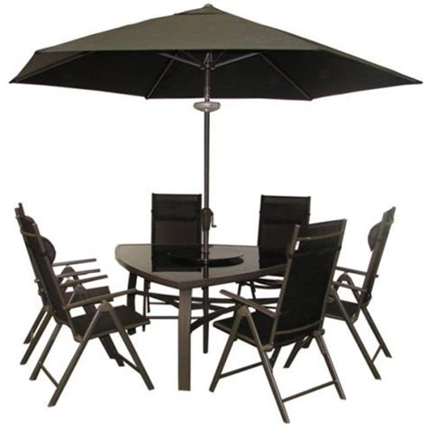 Black Metal Garden Chairs by Buy Billyoh Luxor Black Premium Triangular 6 Seater