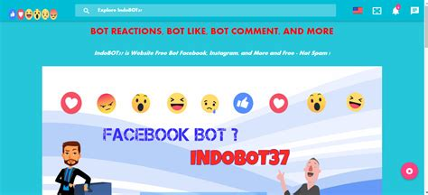 fb reaction bot site free facebook bot reactions comment status and more