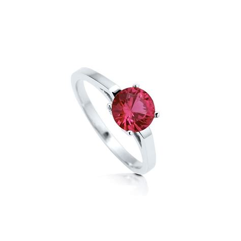 cheap engagement ring for 1 carat ruby engagement rings
