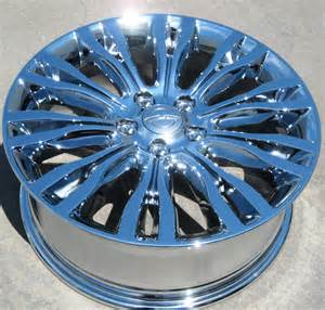 Chrysler Chrome Wheels Exchange Stock 4 18 Quot Factory Chrysler 200 Limited 300m