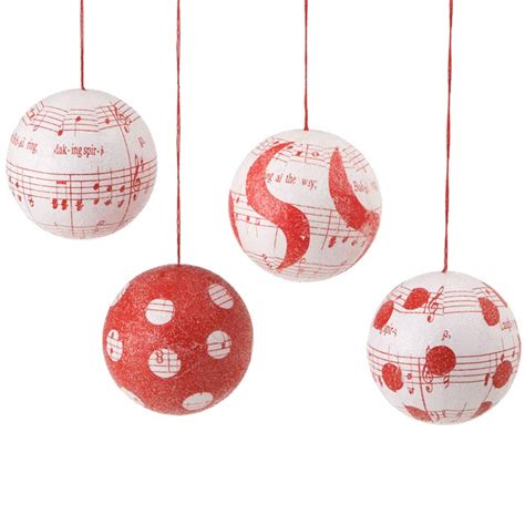 music note ball ornament christmas ornaments ball