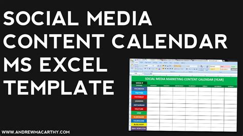 Calendã E Social Search Results For Excel Marketing Calendar Template