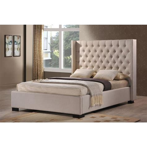 upholstered beds king luxeo newport palazzo mist king upholstered bed lux k6368