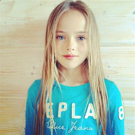 young russian models ages 9 12 is kristina pimenova 9 too young to be a supermodel