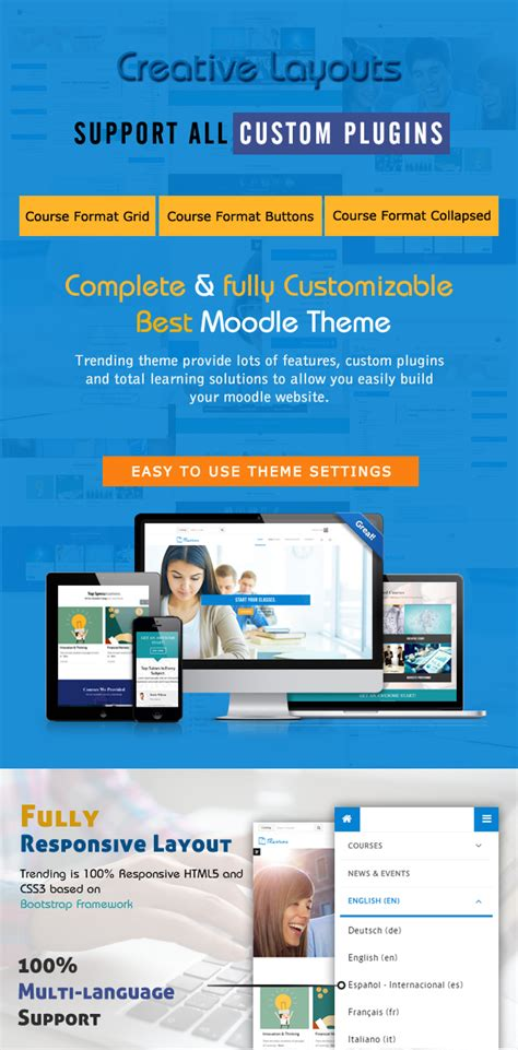 moodle theme sharp trending high quality responsive moodle theme by