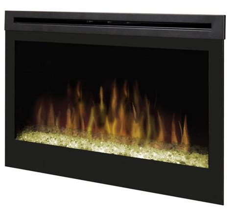 """33"""" Dimplex Glass Ember Bed Electric Fireplace Insert"""