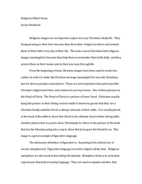 Christian Essays by Christianity Essay