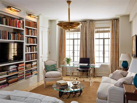 hgtv designer portfolio living rooms white contemporary living space with built in bookcase hgtv