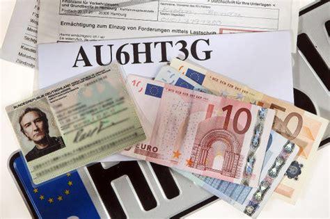 Auto Ummelden Kosten Halterwechsel by Kfz Zulassung Schilder Mitbringen Automobil Bau Auto