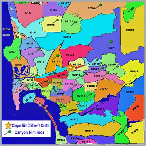 Search San Diego County San Diego County Zip Code Map Adriftskateshop