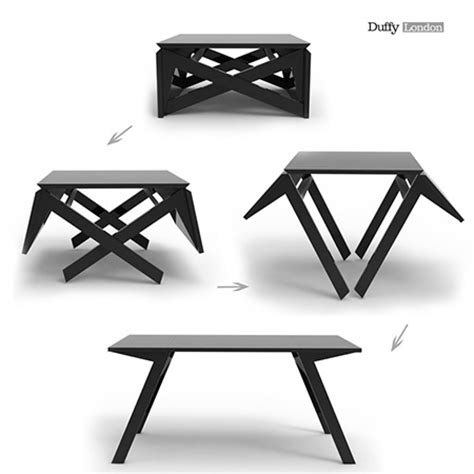 Mk1 Transformer Table Goes From Coffee Table To Dining In Transformer Dining Table