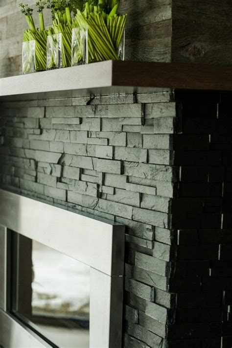 Slate Panels For Fireplace by Fireplace Designed And Manufactured By Woodecor Photo By