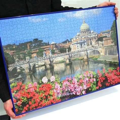 cornice per puzzle mira cornice per puzzles in plastica per 1000 pezzi 50x70