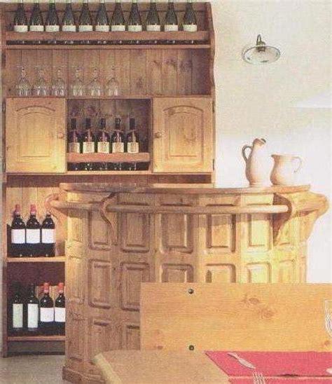 arredamenti rustici in pino mobili rustici bancone bar con piattaia a varese