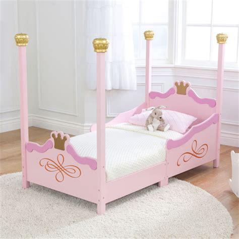 Toddler Princess Beds by Kidkraft Princess Toddler Bed Pink Gold Toddler Beds