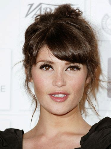 12 sexy hairstyles with side bangs fringe up your look hair and make up trends 30 top celebrity fringes side