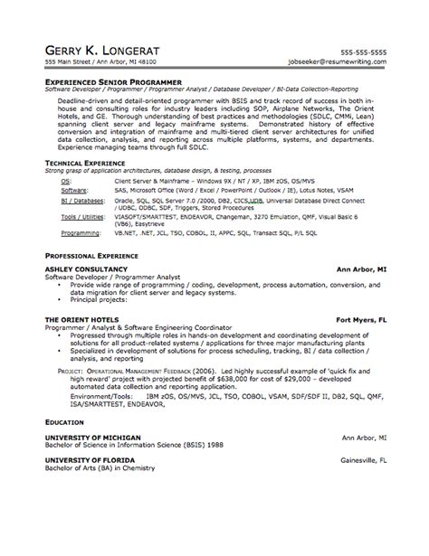 How Does A Resume Look Like by What Your Resume Should Look Like