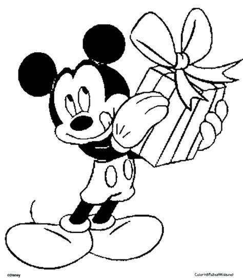 imagenes para colorear de mickey mouse en navidad mickey mouse navidad para colorear e imprimir