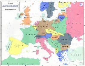 Map Of Europe In Ww1 by Department Of History Wwi