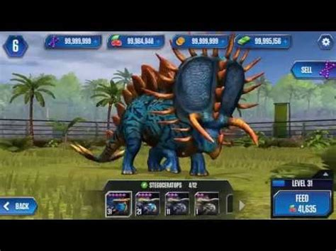 game android jurassic world mod hack mod jurassic world the game v1 8 35 android youtube