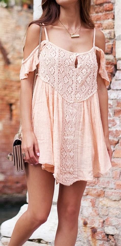 adorable bohemian fashion styles  springsummer