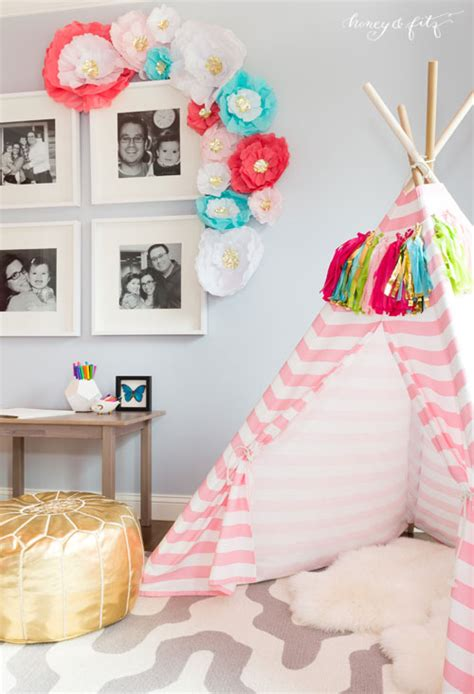 1097 Best Striped Wall baby girl room wall decor
