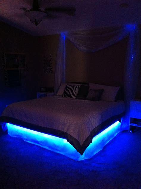 glow bed  fiber optic curtains  work