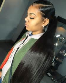 slick back weave hair stylea slick back weave hairstyles kayla phillip s slick back