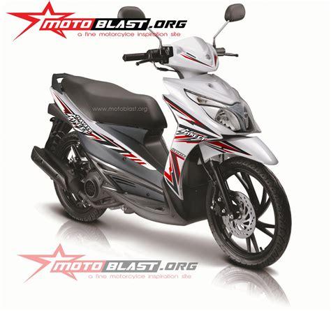 decal design suzuki hayate  white motoblast