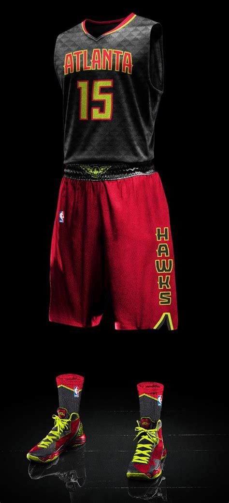 atlanta hawks colors atlanta hawks introduce new uniforms including volt green