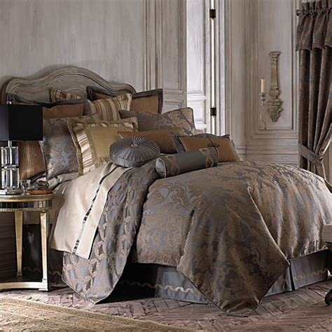 bed bath and beyond waterford waterford 174 linens walton comforter set bed bath beyond