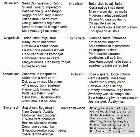 Schweizer Lebenslauf Auf Englisch Gott Erhalte Kaiserhymne Symbole Kunst Und Kultur Im