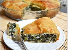 Easy Delicious Homemade Spinach Pie with Puff Pastry ... Meat Spinach Cheese Pastry