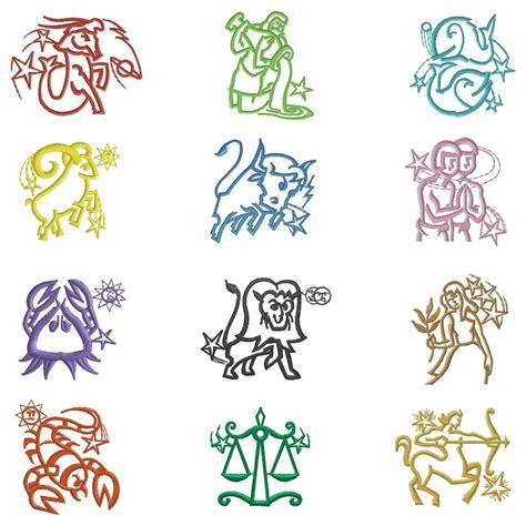 imagenes simbolos zodiaco simbolos del zodiaco simbolos para el teclado en facebook