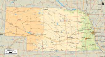 us time zones nebraska map nebraska travel map vacations travelsfinders