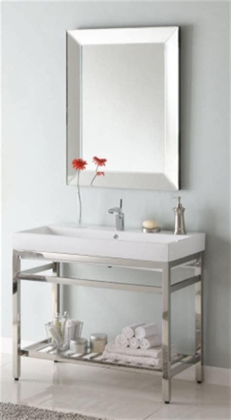 40 Inch Single Sink Console Bathroom Vanity with Choice of