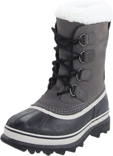sorel caribou s winter snow boots uk 6 5 shale