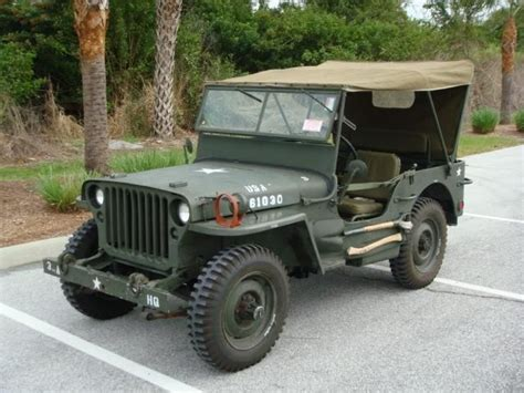 Ww2 Jeeps For Sale Wwii Vehicles For Sale Autos Post