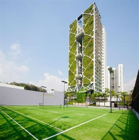 vertical garden condominiums tree house singapore