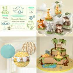 baby animals baby shower theme how to plan a unique animals theme baby shower baby