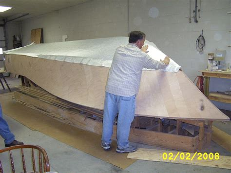 home made wooden boats the hull truth boating and building a 21 diesel center console the hull truth