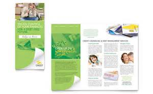counseling brochure template consumer credit counseling tri fold brochure template design