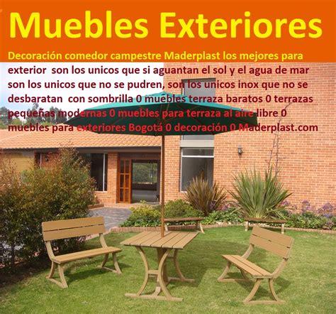 muebles para terrazas exteriores 17 mesa y sillas mobiliario para exteriores pl 193 sticos
