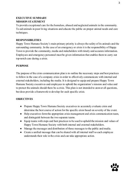 Crisis Communication Plan Sle Crisis Management Plan Template 2