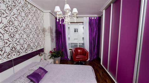 como decorar habitacion juvenil color morado o lila para dormitorios