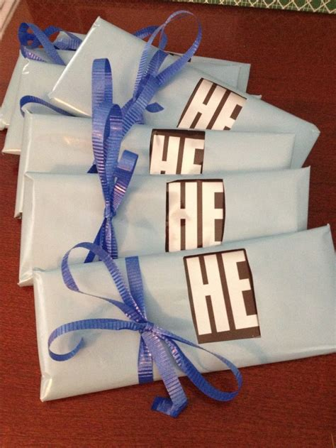 hershey bar favors for baby boy shower baby shower